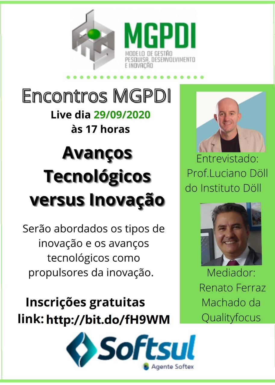 evento avanços tecnológicos versus inovação