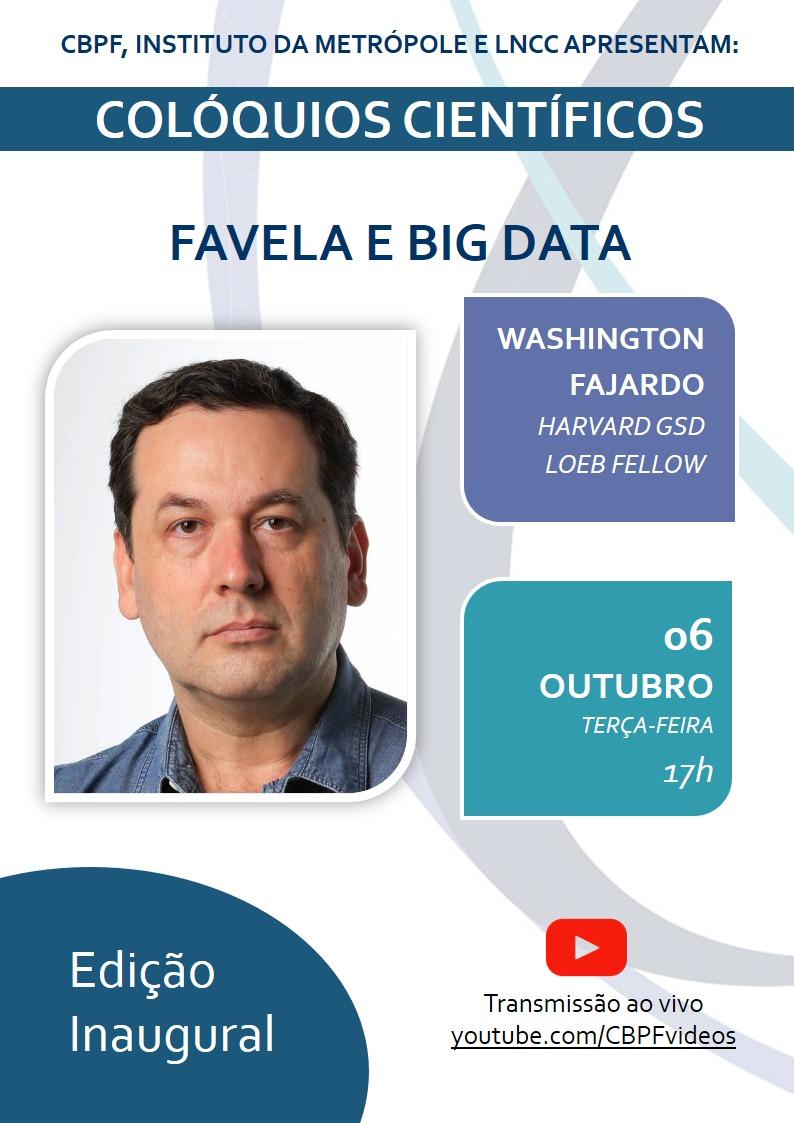 Colóquios Científicos Favela e Big Data